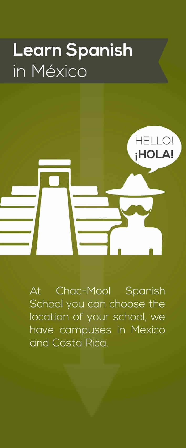 Learn spanish at our School